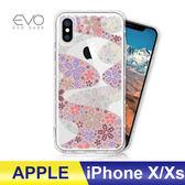 iPhone X/Xs 5.8吋 手機殼 奧地利水鑽 立體彩繪 空壓殼 彩鑽 手工貼鑽 防摔殼 多鑽版 - 櫻花遍地