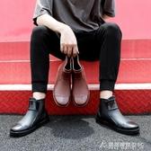 雨鞋中筒雨鞋男式水鞋短筒防水雨靴長筒防滑低筒工作牛筋底廚房鞋加絨 酷斯特數位3c