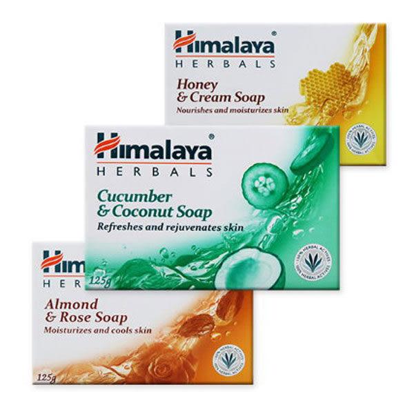 Himalaya喜馬拉雅 保濕香皂125g 多款供選 ☆巴黎草莓☆