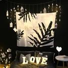 超夯背景布ins挂布挂毯裝飾臥室網紅少女風房間拍照布置床頭牆布