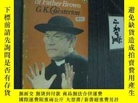 二手書博民逛書店英文原版罕見The Scandal of Father Brow