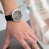A/X Armani Exchange 亞曼尼 AX2604 率性線條三眼腕錶 熱賣中!