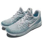 Nike 慢跑鞋 Wmns LunarEpic Low Flyknit 2 藍 銀 飛線編織 女鞋 運動鞋 【PUMP306】 863780-405