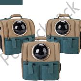 寵物書包超人氣貓咪外出包狗籠子太空艙寵物包貓包貓背包狗包外出箱便攜雙肩背包JD 一件免運
