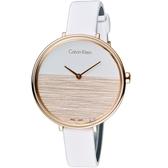 Calvin Klein K7A rise晨曦系列時尚腕錶 K7A236LH 玫瑰金色