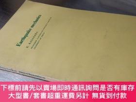 二手書博民逛書店Earthquake罕見mechanics(英文版大32開平裝)地震力學Y16472 K. KASHARA 略