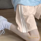 運動短褲女寬鬆外穿跑步韓版休閒高腰直筒五分褲【繁星小鎮】