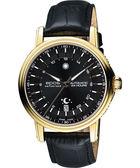 epos 旗鑑典藏太陽之神機械腕錶-黑x金框 3390.302.22.14.25FB