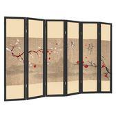 屏風 中式隔斷簡約現代臥室客廳辦公室美容院移動小型2扇折疊折屏(2扇裝)xw