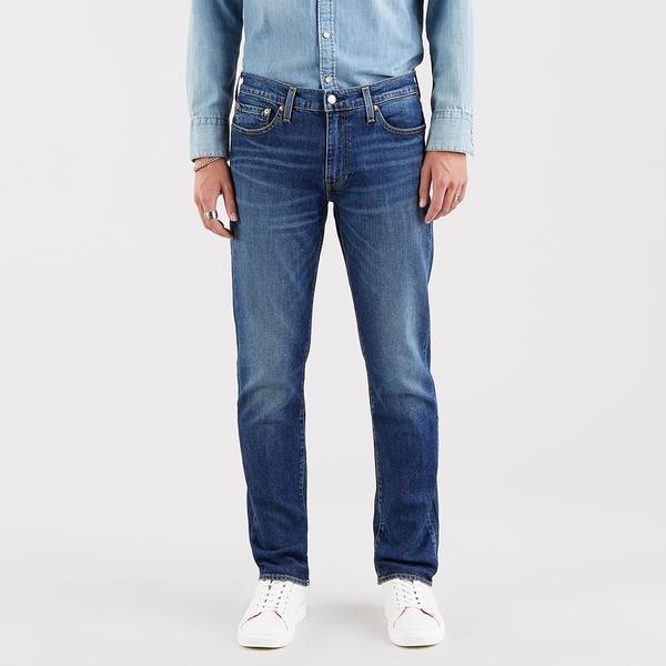 Levis 男款 511 低腰修身窄管牛仔褲 / Flex 彈力機能布料 / 天絲棉天絲棉