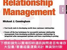 二手書博民逛書店預訂Customer罕見Relationship Management - Marketing 04.04Y4