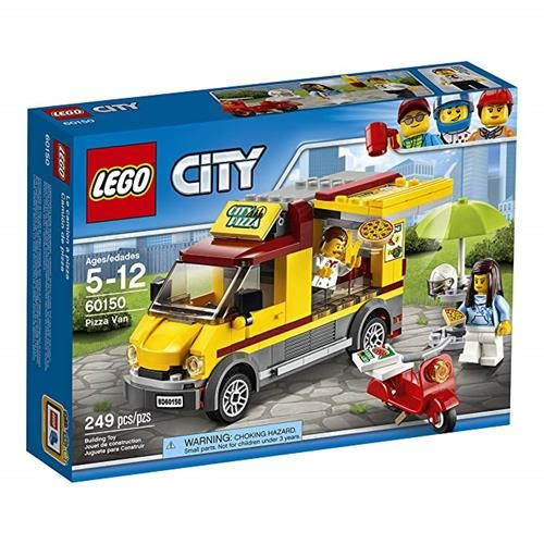 LEGO 樂高 City Great Vehicles Pizza Van 60150 Construction Toy