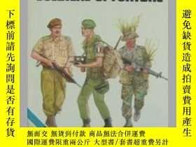 二手書博民逛書店Uniforms罕見of the soldiers of fortune-命運之兵的制服Y443421 Ler