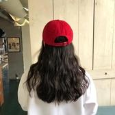 帽子女夏天鴨舌帽韓版純色港風休閒百搭學生街頭遮陽帽軟頂棒球帽