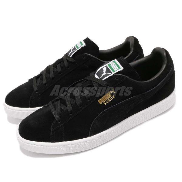 Puma 休閒鞋 Suede Classic 黑 金 麂皮 運動鞋 黑白 經典款 男鞋 女鞋【PUMP306】 35263487