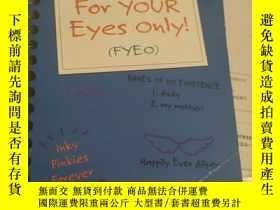 二手書博民逛書店For罕見Your Eyes Only【有點破損 見圖】Y282