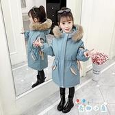 女童棉衣派克服冬裝中大兒童外套加厚羽絨棉服襖【奇趣小屋】