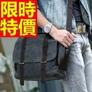 帆布包肩背百搭-嚴選時尚日系側背男包包8色54f2【巴黎精品】
