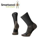 【美國 SmartWool Phd 戶外輕量減震中長襪 《黑/棕》】SW001069/保暖/戶外/運動襪