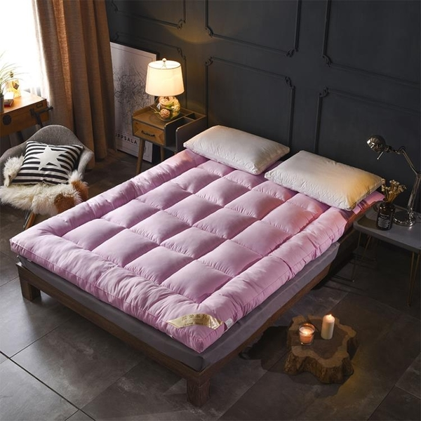床墊 榻榻米床墊加厚10cm可折疊單雙人1.5m1.8m褥子1.2m學生宿舍軟墊被【快速出貨】
