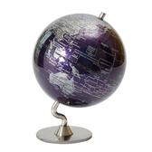 BabyPark l 5吋深紫色時尚地球儀(英文版) A-01-105G3C