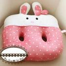 【限量加購】甜蜜波波兔夏季空調舒適坐墊/粉色