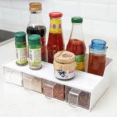 ✭慢思行✭【K43-1】多功能抽屜式調味盒  套裝 置物架  料裡 調味架 收納架 餐具 方便 整潔 廚房