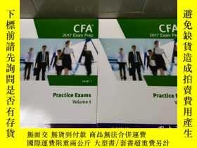 二手書博民逛書店CFA罕見2017 EXAM PREP practice exa