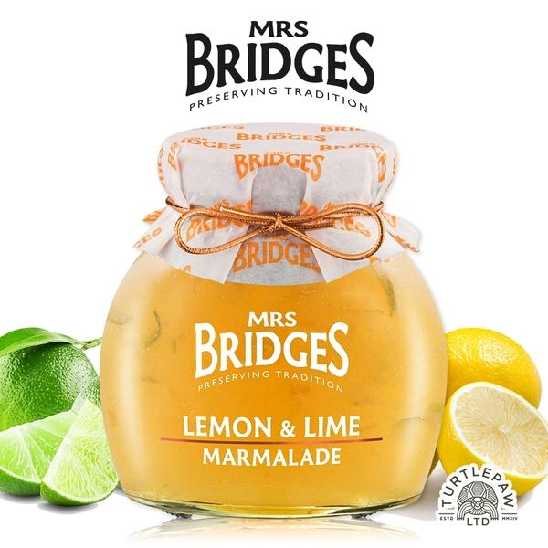 即期【MRS. BRIDGES】英橋夫人檸檬萊姆果醬 (大)340g 效期2021/05