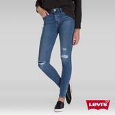 Levis 女款 720 高腰超緊身窄管 超彈力牛仔褲 / 保暖纖維 / Warm Jeans內刷毛 / 破壞縫補 / 彈性布料
