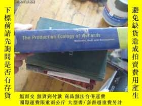 二手書博民逛書店c0011精裝the罕見production ecology o