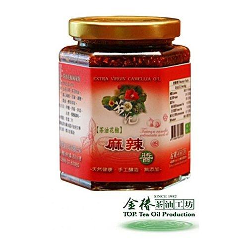 【金椿油品】茶油花椒麻辣醬(250g/瓶)