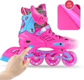 全館83折 溜冰鞋初學者兒童全套裝 3-5-6-8-10歲可拆洗男女成人輪滑鞋直排