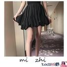 熱賣半身魚尾裙 小個子穿搭百褶裙荷葉邊半身裙2021新款夏裝高腰法國小眾魚尾短裙 coco