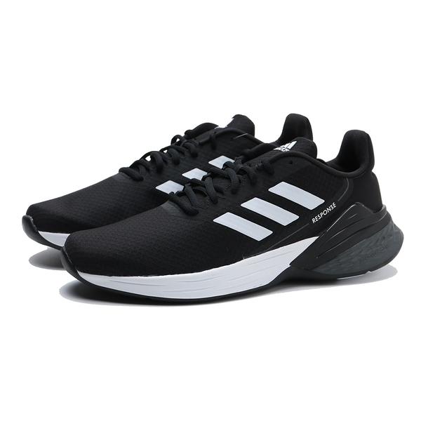 ADIDAS 慢跑鞋 RESPONSE SR 黑白 網布 運動 男 (布魯克林) FX3625