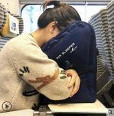 充氣枕長途飛機充氣枕頭便攜充氣u型枕抱枕旅行睡覺神器旅游必備趴睡LX  【新品特惠】