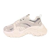 FILA INTERATION 女款灰白色休閒老爹鞋-NO.4C602U920