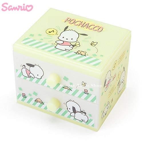 日本限定  三麗鷗 POCHACCO 帕恰狗 雙層 收納盒 / 抽屜盒
