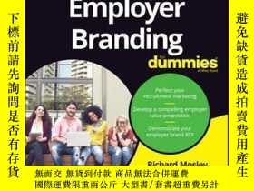 二手書博民逛書店Employer罕見Branding For DummiesY410016 Richard Mosley, L