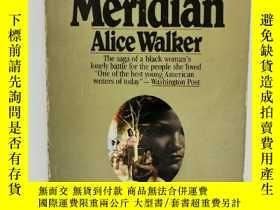 二手書博民逛書店艾麗斯·沃克罕見Meridian by Alice Walker