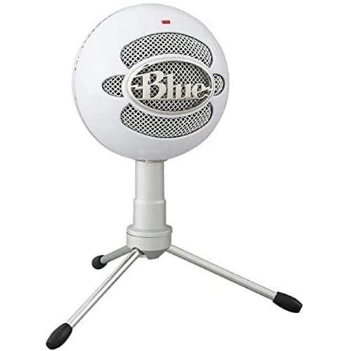 [2美國直購] 電容式麥克風Blue Snowball iCE Condenser Microphone, Cardioid 白