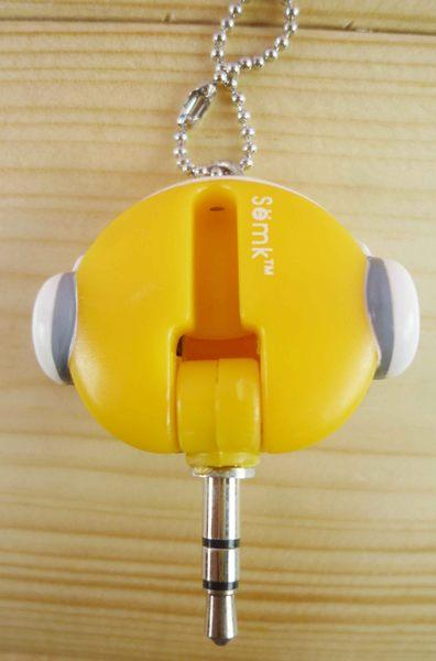 【震撼精品百貨】B.Duck_黃色小鴨~耳機防塵塞-耳機