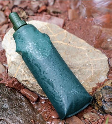 折疊杯 自由兵便攜軟水壺戶外運動登山大容量旅行硅膠水杯可折疊水袋