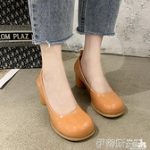 娃娃鞋 糖果色性感高跟大頭娃娃鞋2021年夏季新款粗跟洛麗塔兩穿瑪麗珍鞋 非凡小鋪