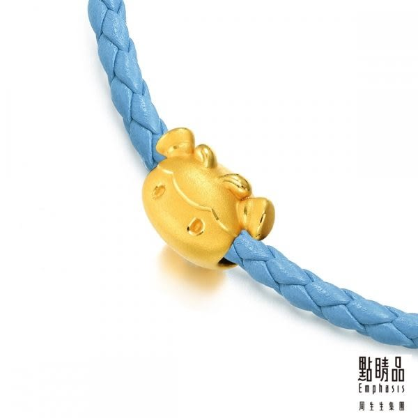 點睛品 Charme系列 Bee Family蜜糖開心果 黃金串飾