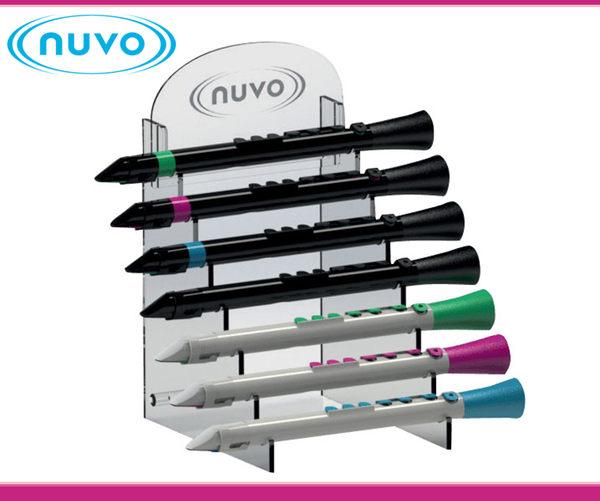 【小麥老師樂器館】NUVO 管樂展示架 七支展示 POP7DTDP 豎笛展示架 豎笛掛架 豎笛