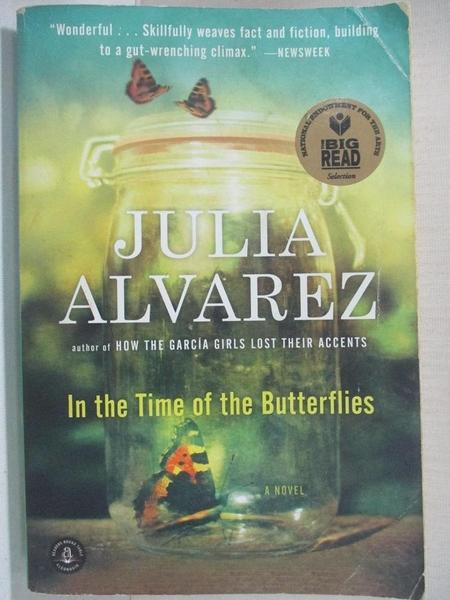 【書寶二手書T5/原文小說_CY8】In the Time of the Butterflies_Julia Alvarez, Julia Alvarez