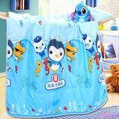 卡通兒童幼兒園夏涼被嬰兒床寶寶夏季午睡空調被絲棉小被子薄被芯