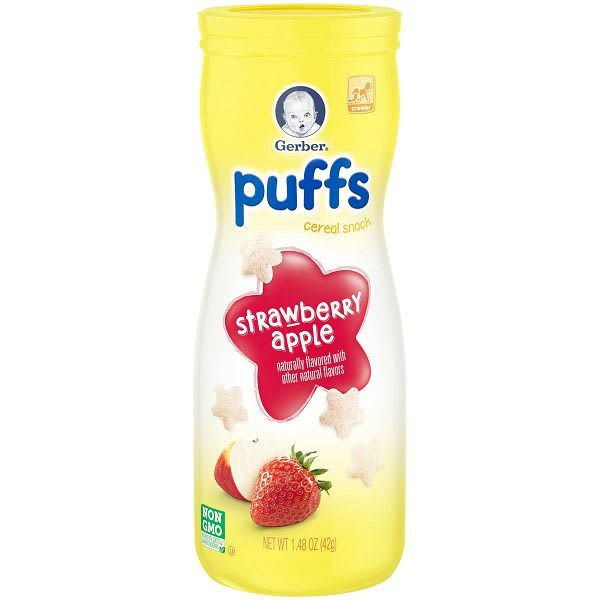 嘉寶 星星餅乾-草莓蘋果