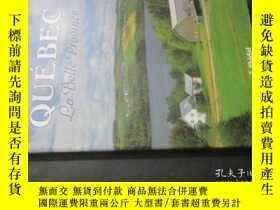 二手書博民逛書店QUÉBEC罕見La Belle Province 8開精裝畫冊